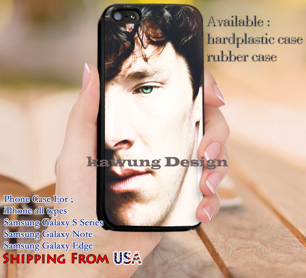 Beautiful Eye Benedict Cumberbatch iPhone 8+ 7 6s Cases Samsung Galaxy S8 S7 edge NOTE 8 5 4