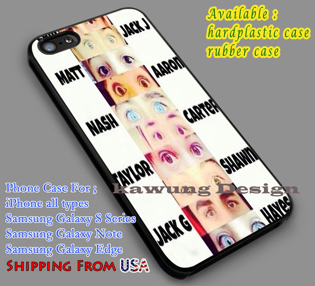 Beautiful Eyes Popular iPhone 6s 6 6s+ 5c 5s Cases Samsung Galaxy s5 s6 Edge+ NOTE 5 4 3 #movie #MagconBoys dl7 - Kawung Design  - 1