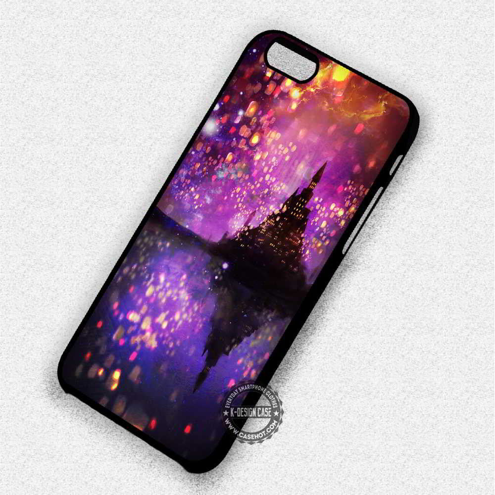 Beautiful Lanterns Disney Tangled - iPhone 7 6 Plus 5c 5s SE Cases & Covers - Kawung Design  - 1