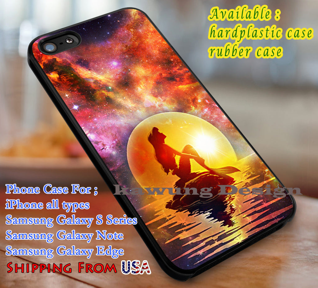 Beautiful Ariel The Little Mermaid Disney Galaxy iPhone 8+ 7 6s Cases Samsung Galaxy S8 S7 edge NOTE 8 5 4