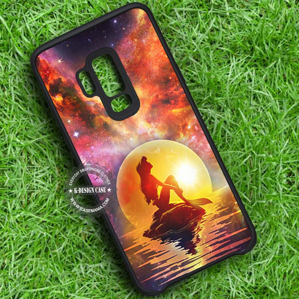 The Little Mermaid Disney Galaxy Samsung Galaxy S9 Plus Case