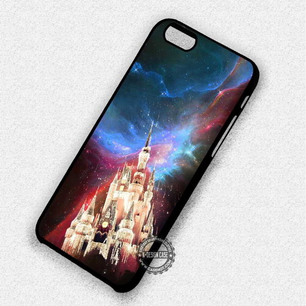 Beautiful Palace Disney Cinderella Nebula - iPhone 7 6 Plus 5c 5s SE Cases & Covers - Kawung Design  - 1