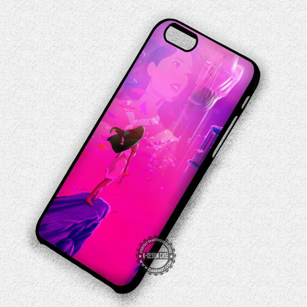 Beautiful Pocahontas - iPhone 7 6 5 SE Cases & Covers - Kawung Design  - 1