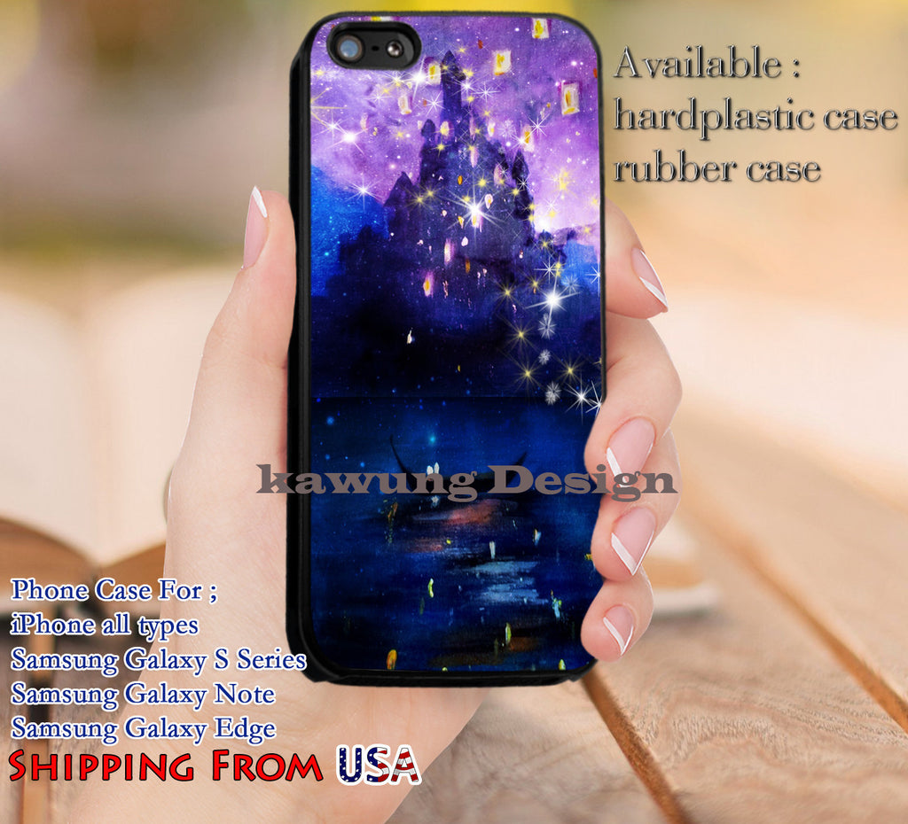 Beautiful Scenery Tangled Lantern iPhone X 8+ 7 6s Cases Samsung Galaxy S8 S7 edge NOTE 8 5 4