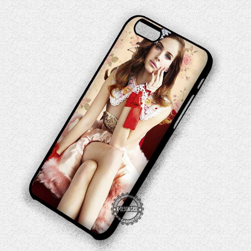 Beautiful Vintage Lana Del Rey - iPhone 7 6 Plus 5c 5s SE Cases & Covers - Kawung Design  - 1