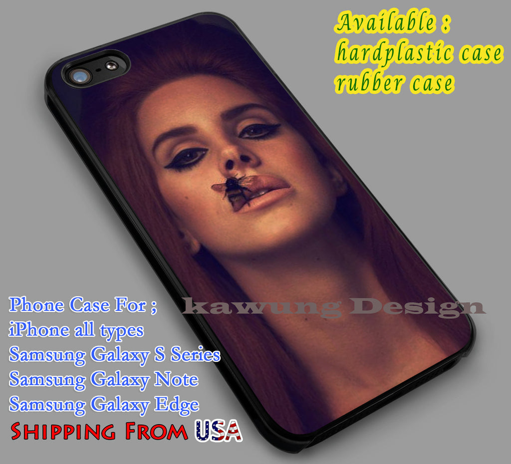 Copy of American Flag | Lana Del Rey iPhone 6s 6 6s+ 6plus Cases Samsung Galaxy s5 s6 Edge+ NOTE 5 4 3 #music #lana dl2 - Kawung Design  - 1