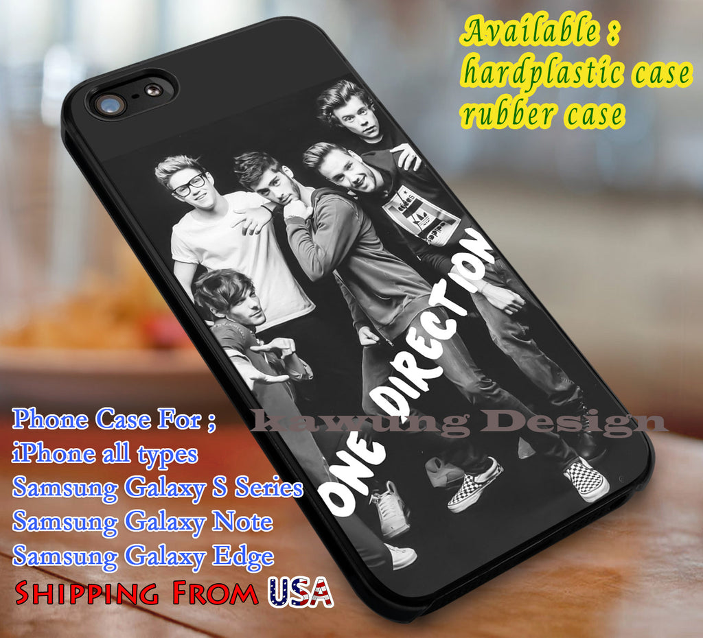 Best Boyband One Direction iPhone 6s 6 6s+ 6plus Cases Samsung Galaxy s5 s6 Edge+ NOTE 5 4 3 #music #1d dl3 - Kawung Design  - 1