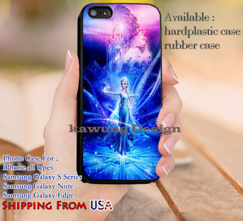 Beutiful Princess Elsa Frozen iPhone 6s 6 6s+ 5c 5s Cases Samsung Galaxy s5 s6 Edge+ NOTE 5 4 3 #cartoon #disney #animated  #frozen dl12 - Kawung Design  - 4