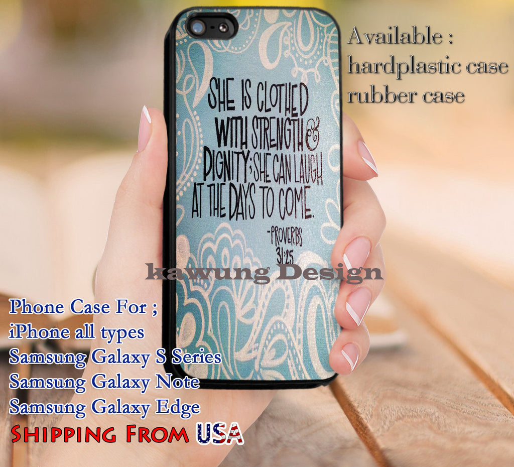 Bible Verse Women Hope Quote iPhone 8+ 7 6s Cases Samsung Galaxy S8 S7 edge NOTE 8 5 4
