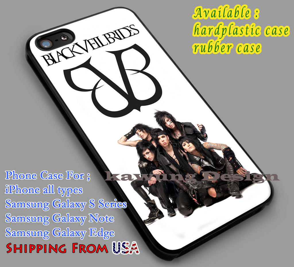 Black Veil Brides | Band | Rock iPhone 6s 6 6s+ 6plus Cases Samsung Galaxy s5 s6 Edge+ NOTE 5 4 3 #music #bvb dl2 - Kawung Design  - 1