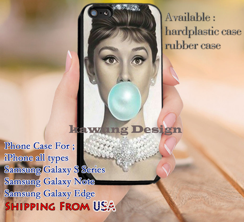Blue Bubble Gum iPhone 6s 6 6s+ 5c 5s Cases Samsung Galaxy s5 s6 Edge+ NOTE 5 4 3 #movie #actrees #adh dl9 - Kawung Design  - 1