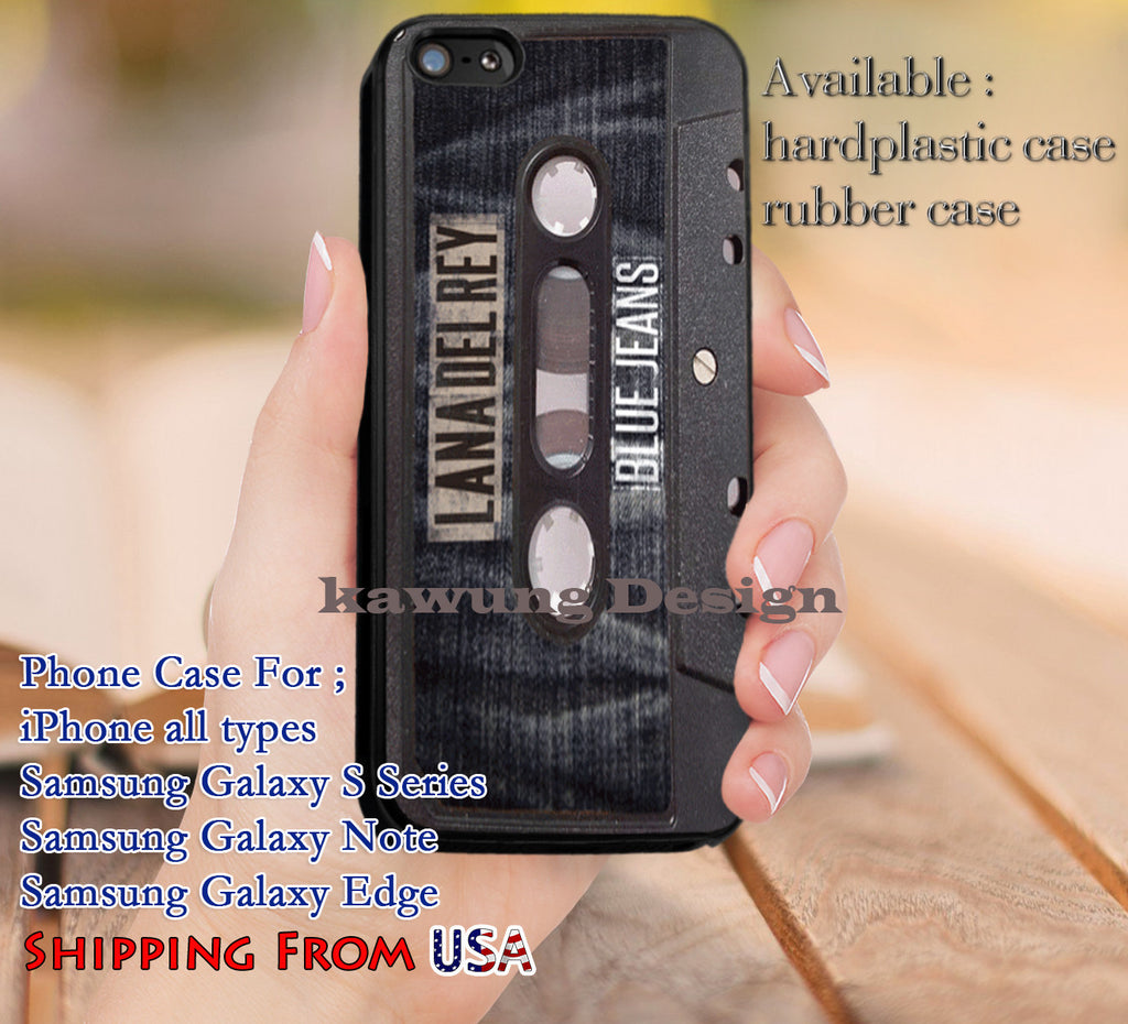 Blue Jeans Ultraviolence Lana Del Rey iPhone 6s 6 6s+ 5c 5s Cases Samsung Galaxy s5 s6 Edge+ NOTE 5 4 3 #music #lana dl9 - Kawung Design  - 1
