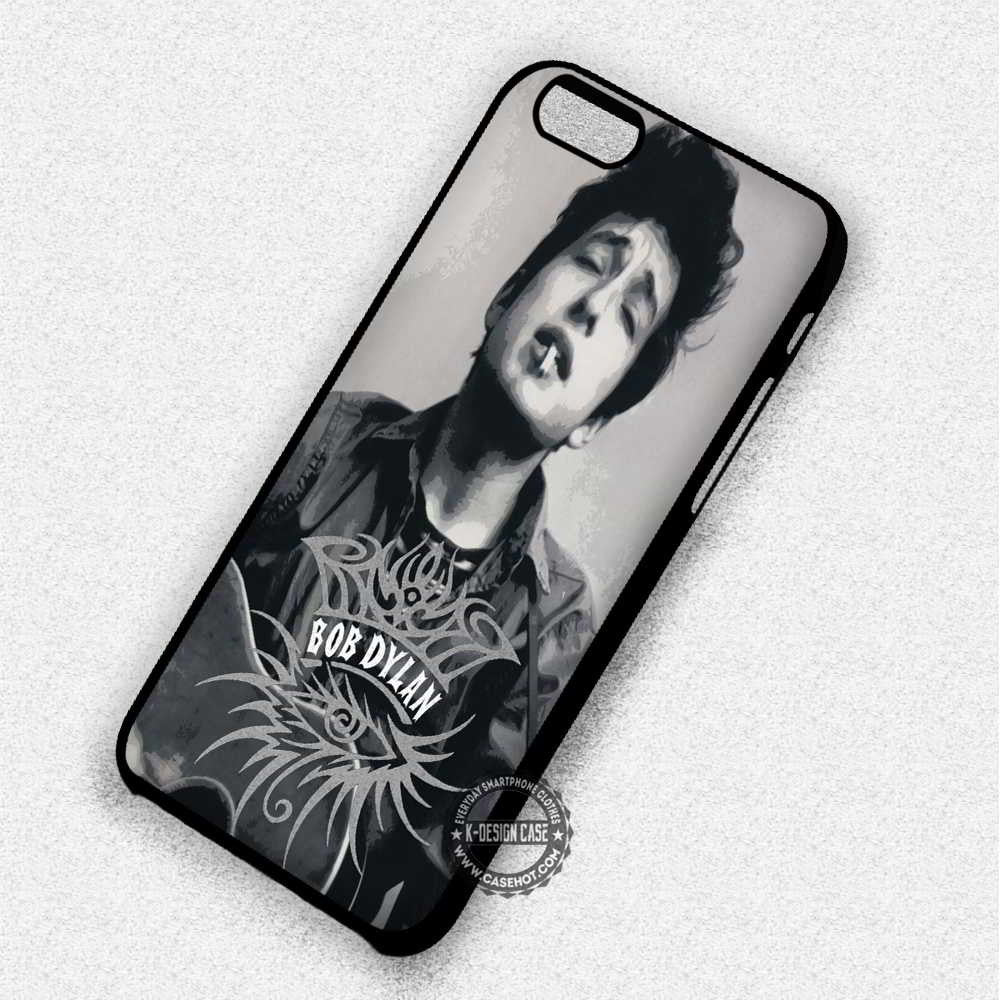 Bob Dylan The Beatles - iPhone 7 6 Plus 5c 5s SE Cases & Covers - Kawung Design  - 1