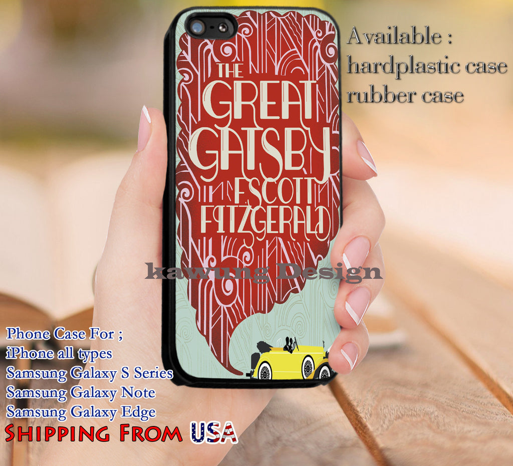 Books The Great Gatsby iPhone 6s 6 6s+ 5c 5s Cases Samsung Galaxy s5 s6 Edge+ NOTE 5 4 3 #movie #TheGreatGatsby dl12 - Kawung Design  - 1