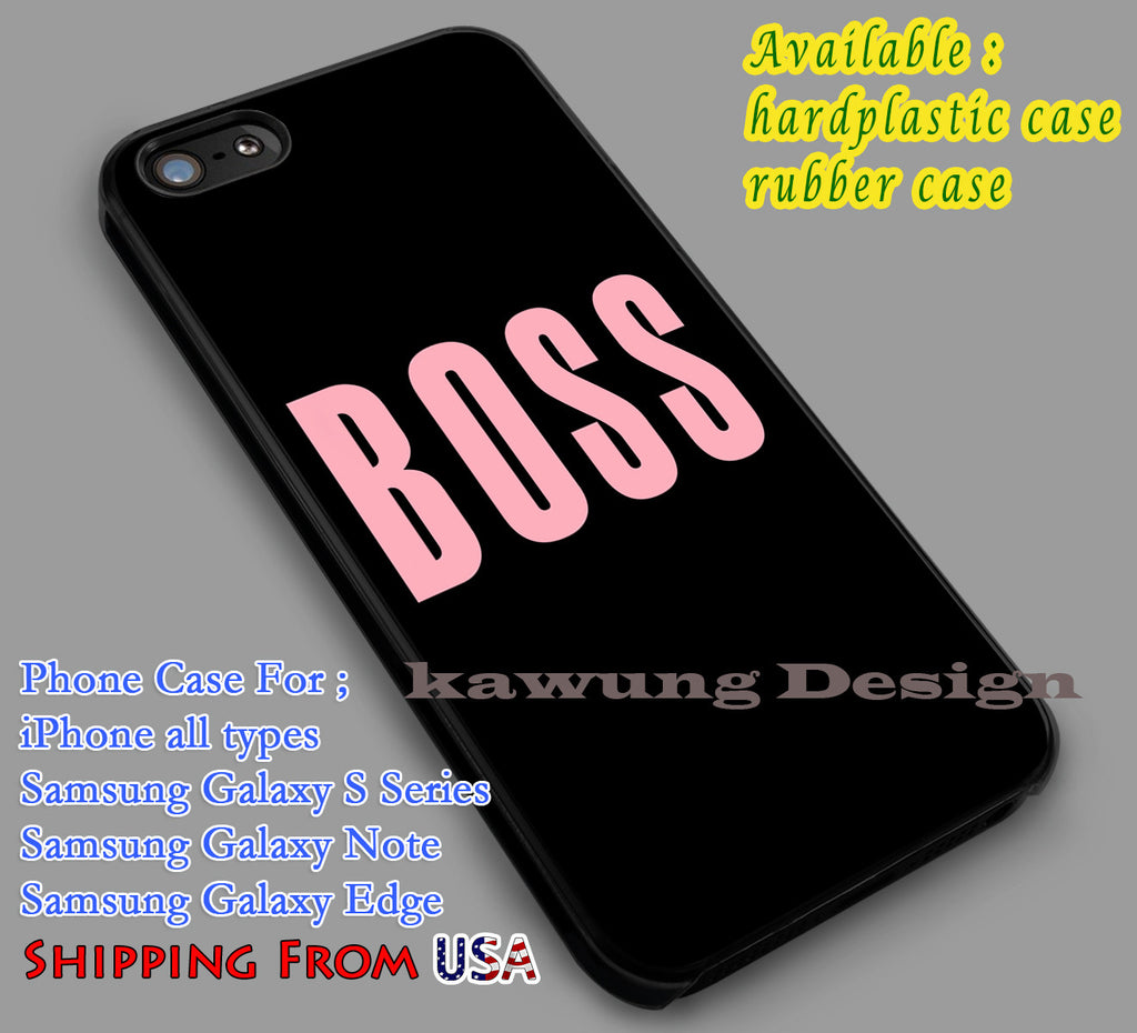 Boss | Beyonce Quote | Popular iPhone 6s 6 6s+ 6plus Cases Samsung Galaxy s5 s6 Edge+ NOTE 5 4 3 #music #byc dl2 - Kawung Design  - 1