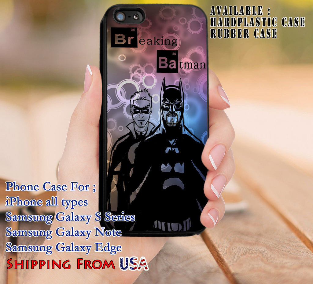 Breaking Bad Batman iPhone 6s 6 6s+ 5c 5s Cases Samsung Galaxy s5 s6 Edge+ NOTE 5 4 3 #movie #BreakingBad #superheroes dl8 - Kawung Design  - 1
