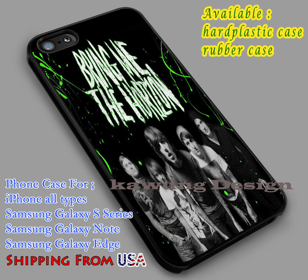 Bring Me The Horizon iPhone 6s 6 6s+ 6plus Cases Samsung Galaxy s5 s6 Edge+ NOTE 5 4 3 #music #bmth dl4 - Kawung Design  - 1