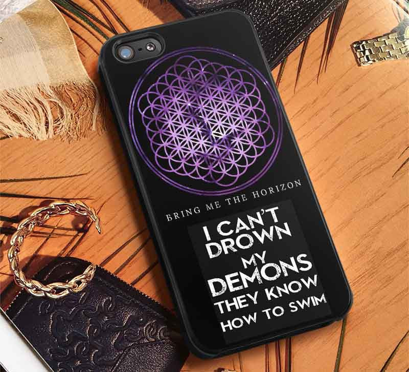 Bring Me The Horizon Lyric iPhone 6s 6 6s+ 5c 5s Cases Samsung Galaxy s5 s6 Edge+ NOTE 5 4 3 #music #bmth lk - Kawung Design  - 1