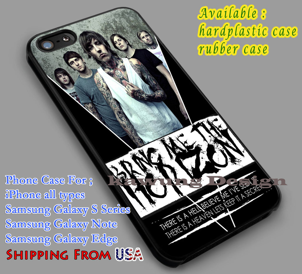 Bring Me The Horizon Quote iPhone 6s 6 6s+ 6plus Cases Samsung Galaxy s5 s6 Edge+ NOTE 5 4 3 #music #bmth dl4 - Kawung Design  - 1