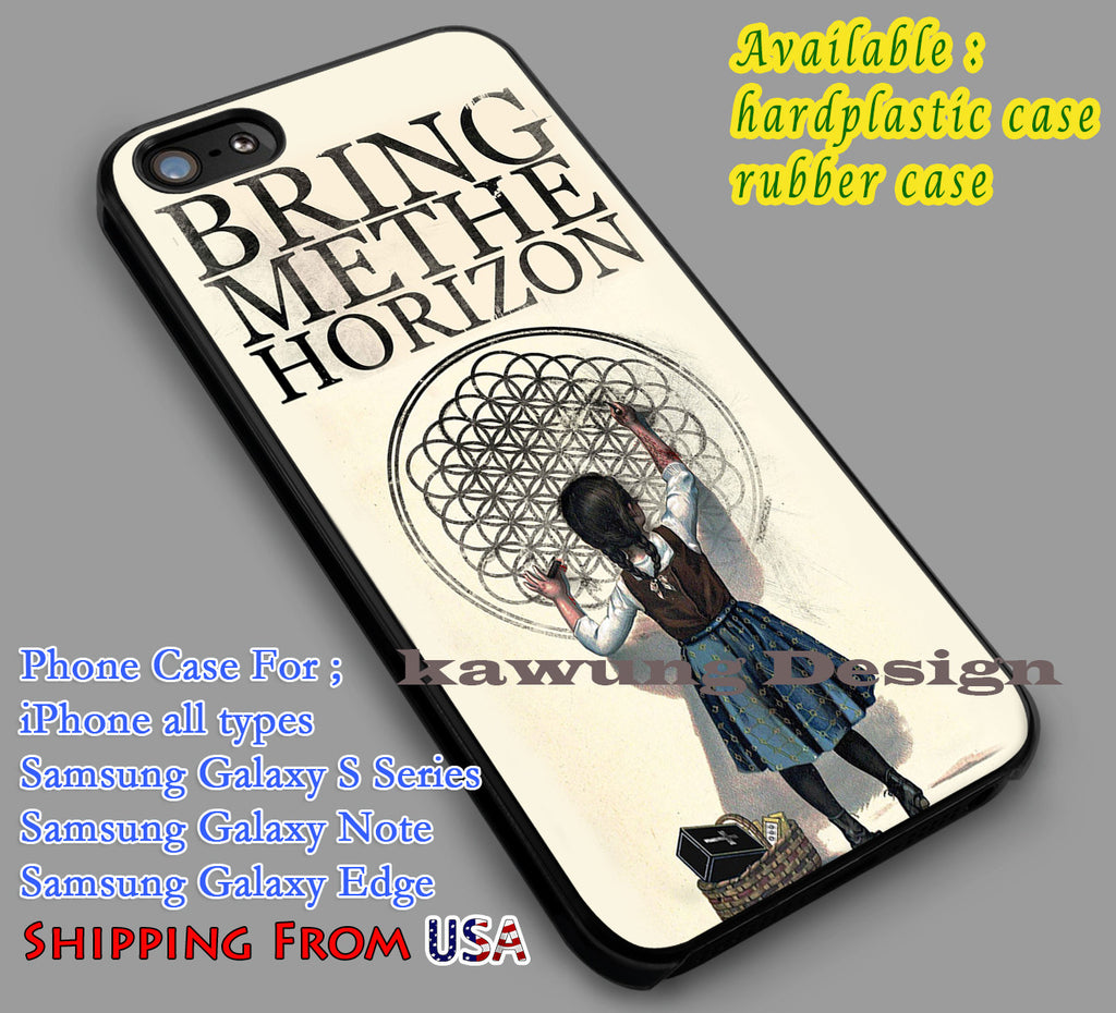Bring Me The Horizon Poster iPhone 6s 6 6s+ 5c 5s Cases Samsung Galaxy s5 s6 Edge+ NOTE 5 4 3 #music #bmth dl5 - Kawung Design  - 1