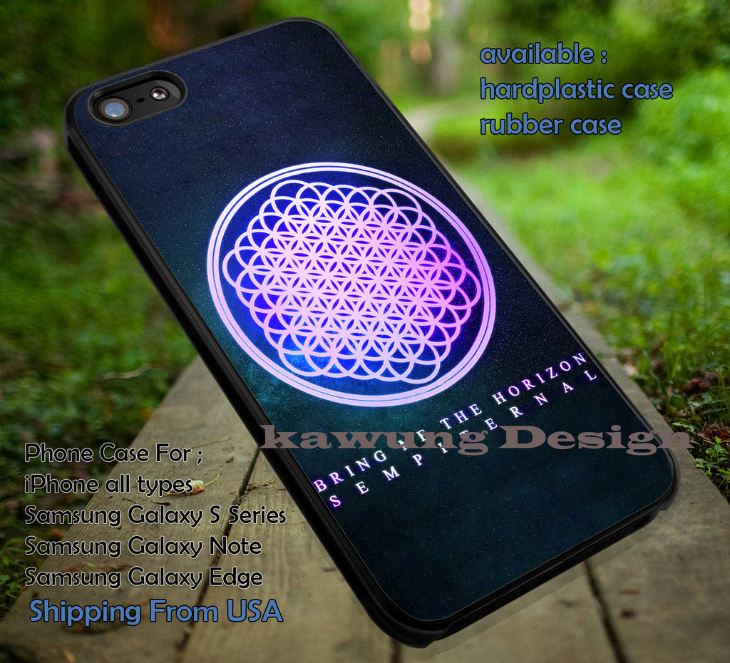 Bring Me The Horizon case/cover for iPhone 4/4s/5/5c/6/6+/6s/6s+ Samsung Galaxy S4/S5/S6/Edge/Edge+ NOTE 3/4/5 #music #bmth ii - Kawung Design  - 1