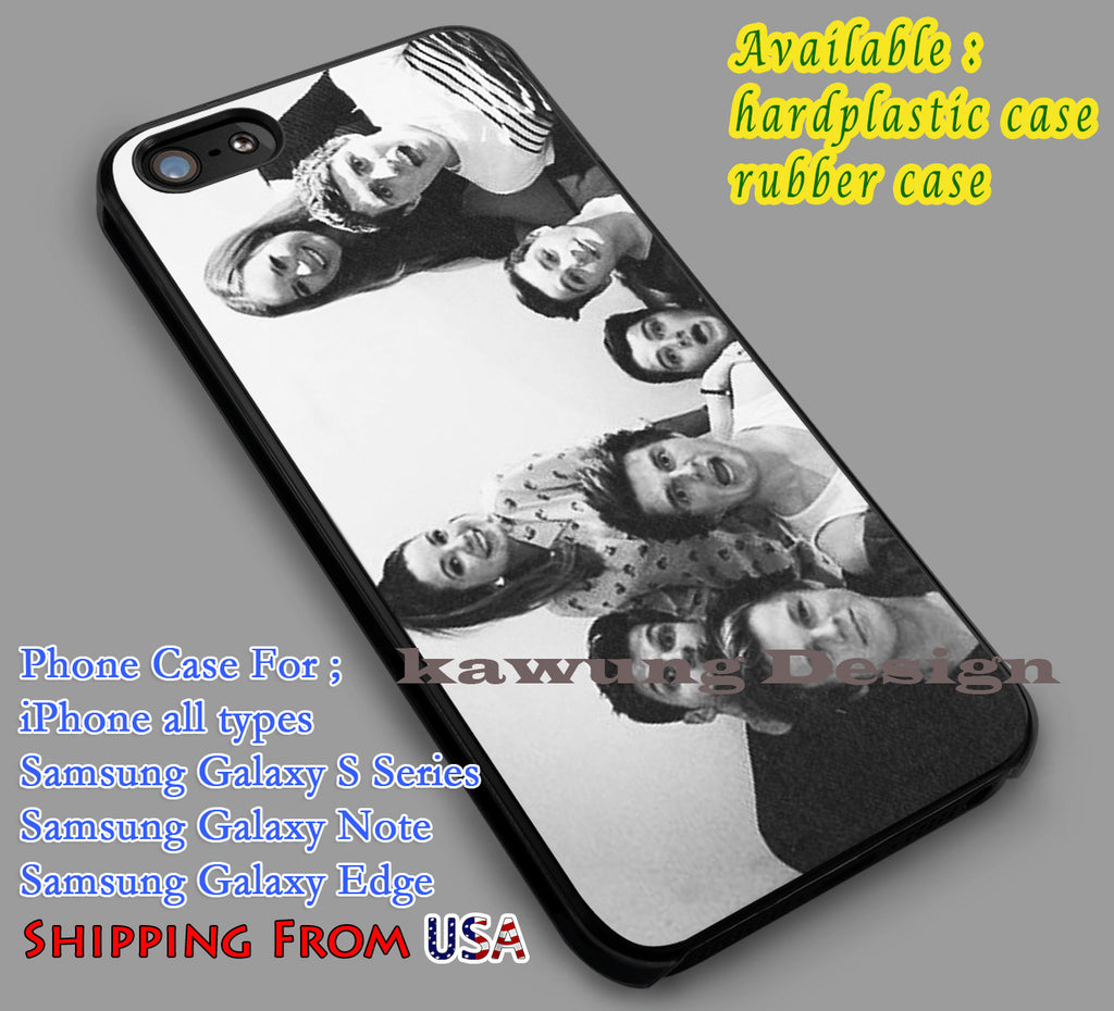 British Youtubers Black and White iPhone 6s 6 6s+ 6plus Cases Samsung Galaxy s5 s6 Edge+ NOTE 5 4 3 #other dl2 - Kawung Design  - 1