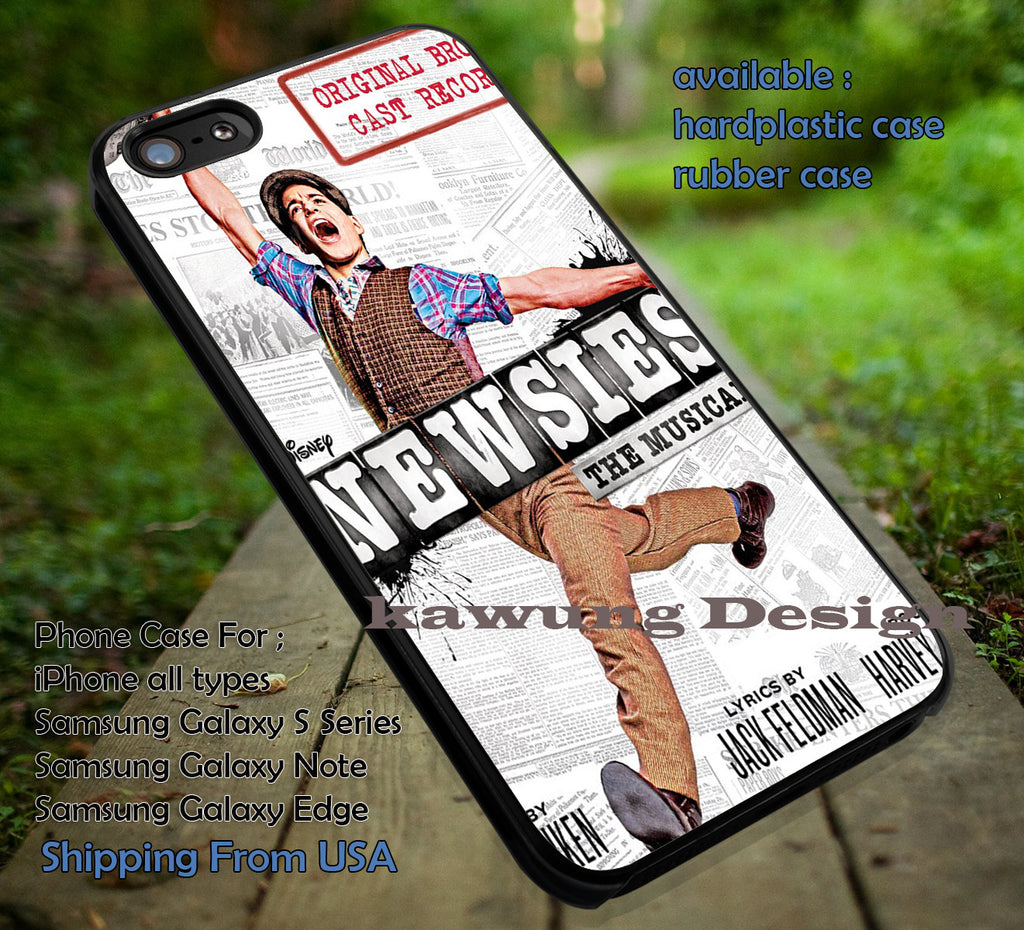 Broadway Musical | Newsies | Harvey Fierstein iPhone 6s 6 6s+ 6plus Cases Samsung Galaxy s5 s6 Edge+ NOTE 5 4 3 #music #newsies ii - Kawung Design  - 1