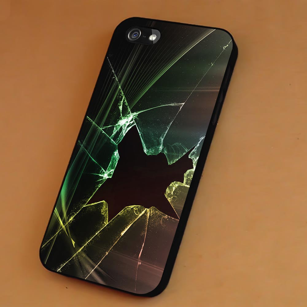 Broken Window Glowing iPhone 6s 6 6s+ 5c 5s Cases Samsung Galaxy s5 s6 Edge+ NOTE 5 4 3 #art sp - Kawung Design  - 1