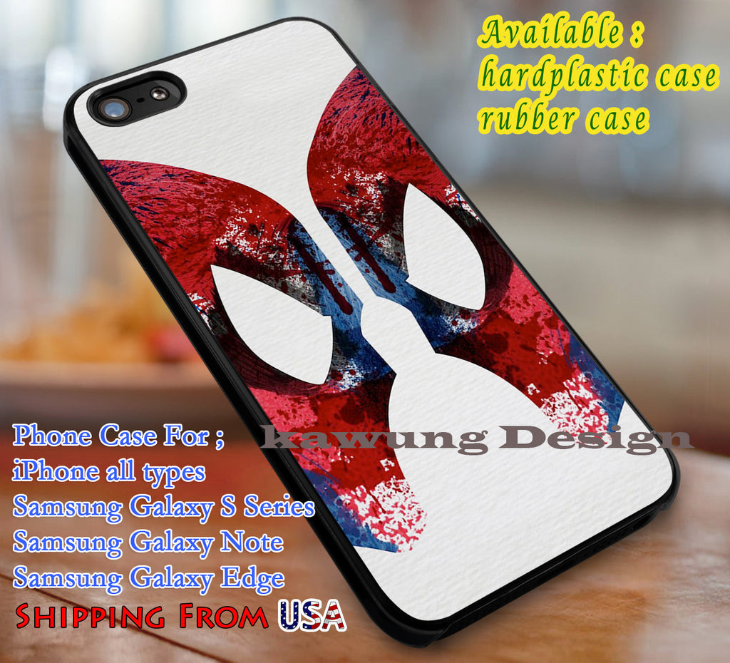 Brush Painting Art Spiderman iPhone 6s 6 6s+ 6plus Cases Samsung Galaxy s5 s6 Edge+ NOTE 5 4 3 #movie #disney #animated #marvel #comic #superheroes dl3 - Kawung Design  - 1