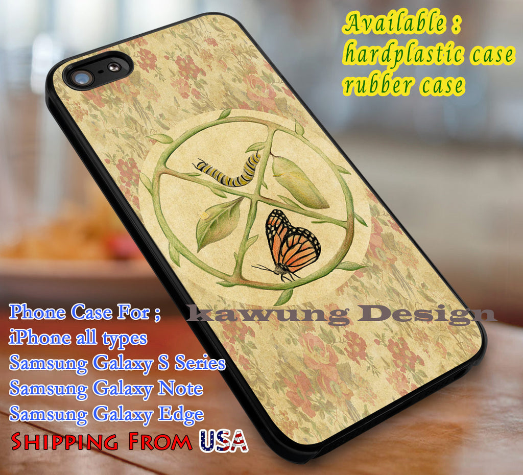Butterfly Metamorphs | Vintage | Flower iPhone 6s 6 6s+ 6plus Cases Samsung Galaxy s5 s6 Edge+ NOTE 5 4 3 #art dl1 - Kawung Design  - 1