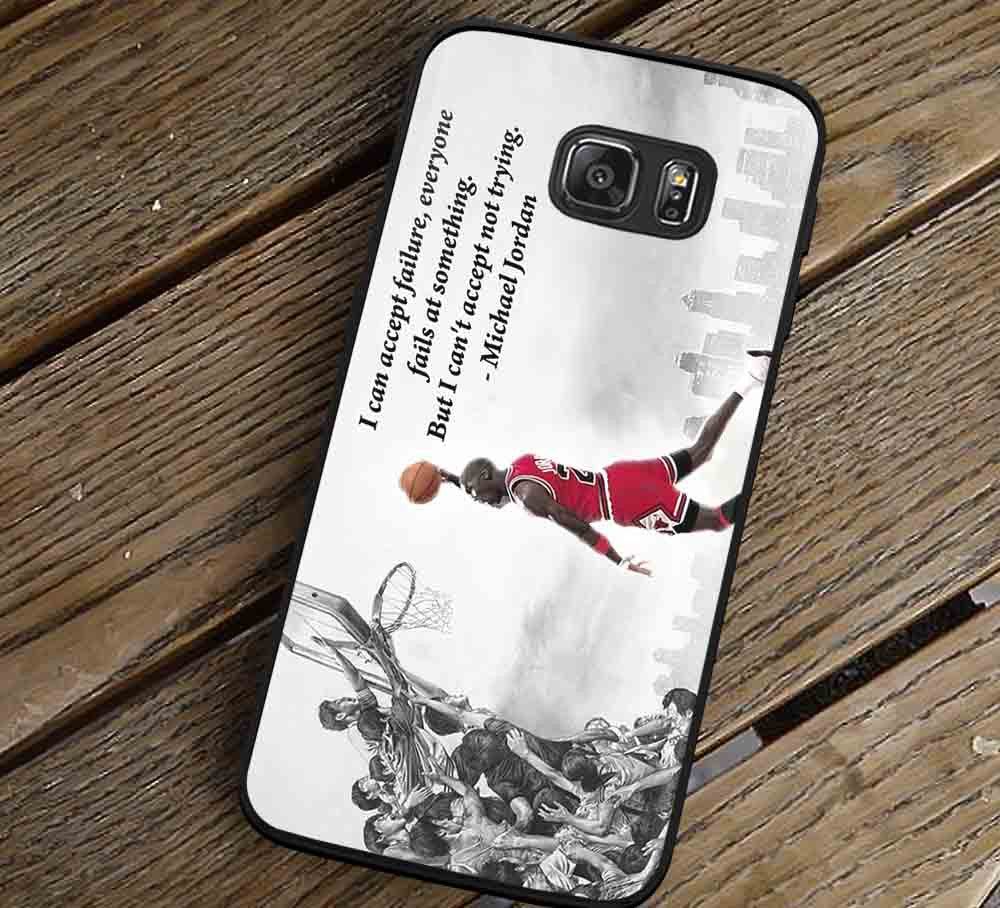 Can't Accept Not Trying Samsung Galaxy s3 s4 s5 s6 Edge+ NOTE 5 4 3 Cases #quote lk - Kawung Design  - 1