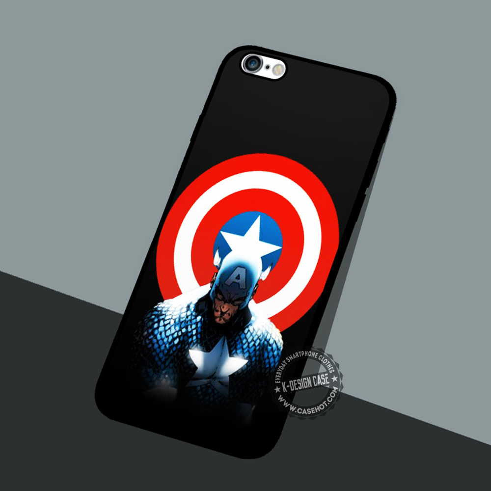 Shield Symbol The Avengers Iphone 7 6 Plus Cases Covers Movie