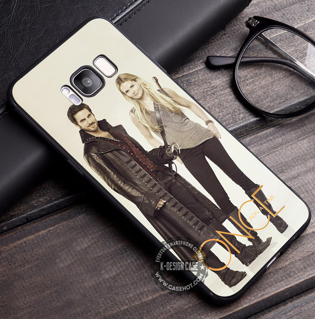 Captain Hook and Emma Swan Once Upon a Time Samsung Galaxy S8 Case