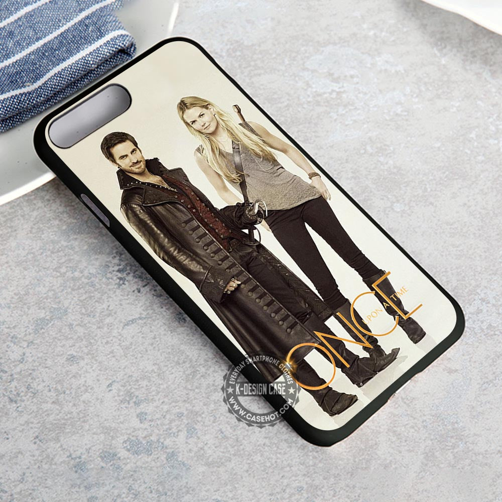 Captain Hook and Emma Swan Once Upon a Time iPhone 8 Plus Case