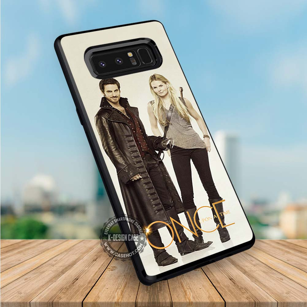 Captain Hook and Emma Swan Once Upon a Time Samsung Galaxy NOTE 8 Case