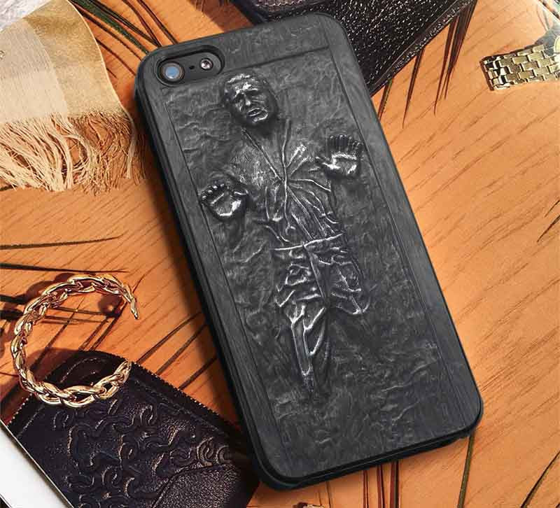 Carbonite Han Solo iPhone 6s 6 6s+ 5c 5s Cases Samsung Galaxy s5 s6 Edge+ NOTE 5 4 3 #movie #starwars lk - Kawung Design  - 1