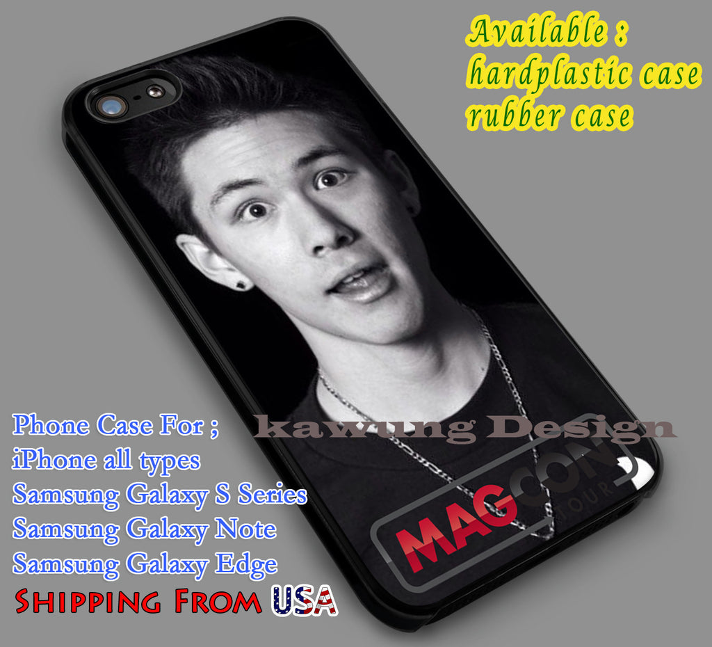 Carter Reynolds Popular iPhone 6s 6 6s+ 5c 5s Cases Samsung Galaxy s5 s6 Edge+ NOTE 5 4 3 #movie #MagconBoys dl7 - Kawung Design  - 1