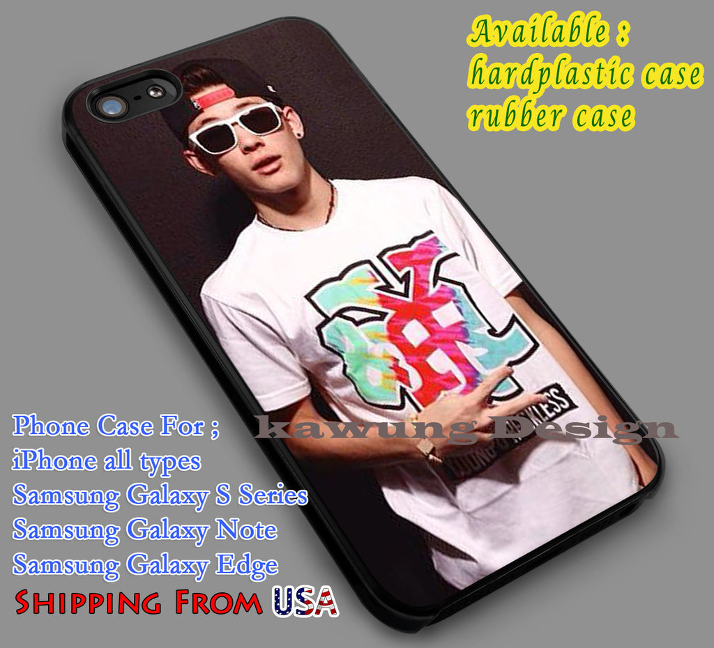 Carter Reynolds Magcon iPhone 6s 6 6s+ 5c 5s Cases Samsung Galaxy s5 s6 Edge+ NOTE 5 4 3 #movie #MagconBoys dl7 - Kawung Design  - 1