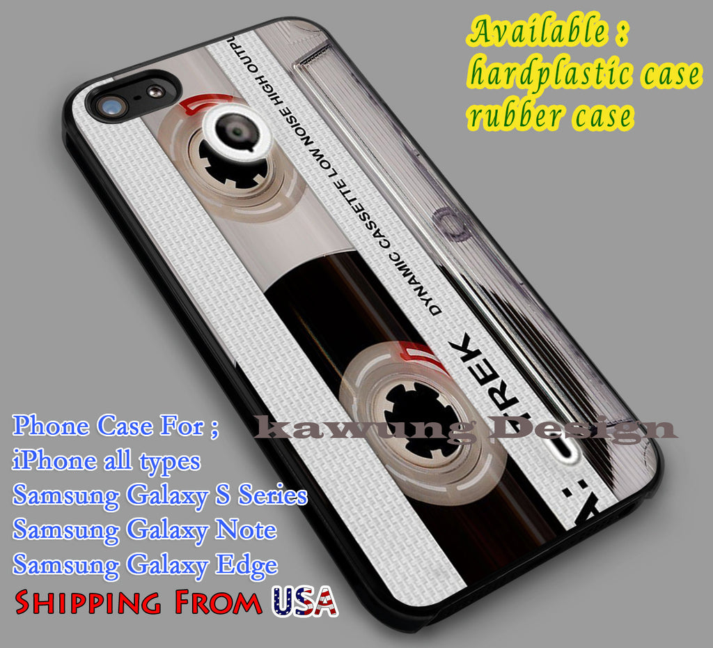 Cassette | Clear | Vintage iPhone iPhone 6s 6 6s+ 6plus Cases Samsung Galaxy s5 s6 Edge+ NOTE 5 4 3 #art dl2 - Kawung Design  - 1