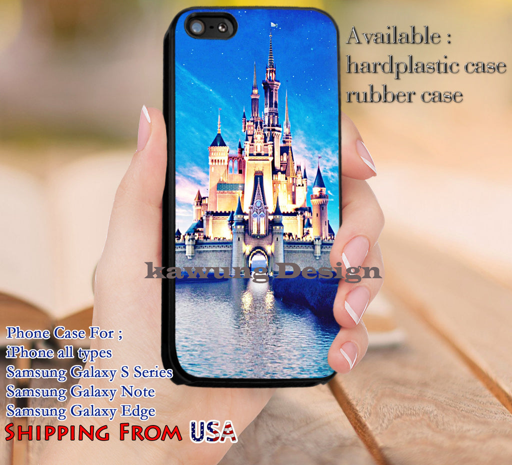 Castle Disney World Palace Cinderella iPhone 6s 6 6s+ 5c 5s Cases Samsung Galaxy s5 s6 Edge+ NOTE 5 4 3 #cartoon #animated #disney #Cinderella dl11 - Kawung Design  - 1