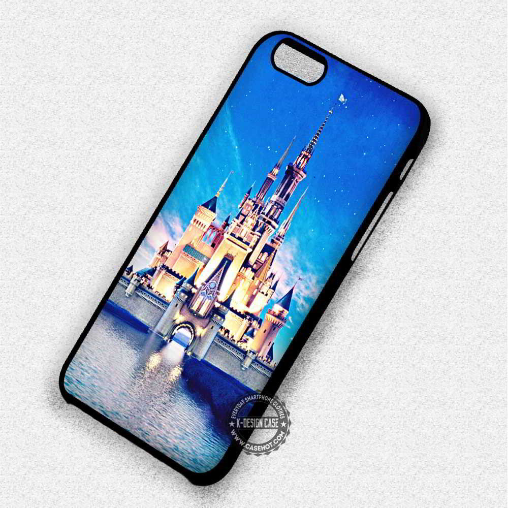 Castle Disney World Palace Cinderella - iPhone 7 6 Plus 5c 5s SE Cases & Covers - Kawung Design  - 1