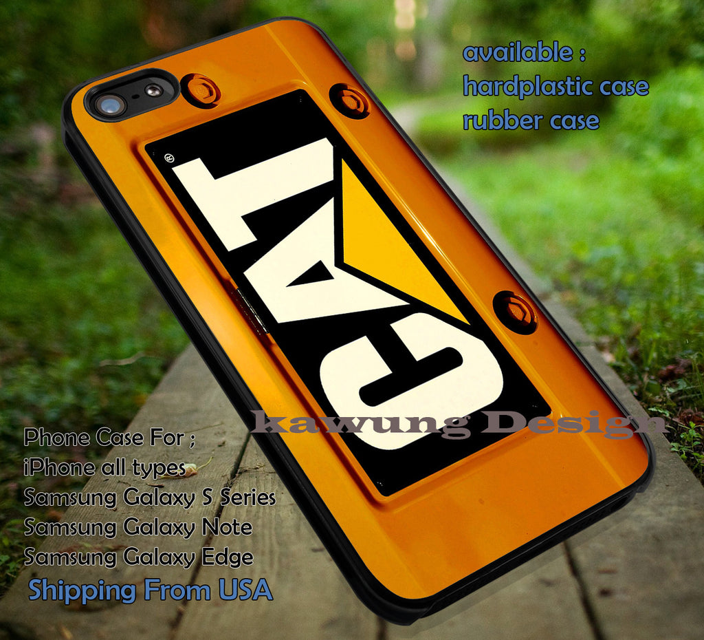 Cat Caterpillar Electro Motive iPhone 6s 6 6s+ 6plus Cases Samsung Galaxy s5 s6 Edge+ NOTE 5 4 3 #art ii - Kawung Design  - 1