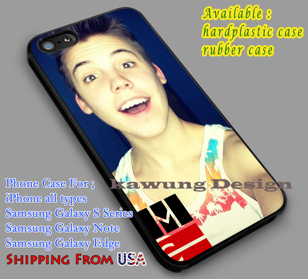Cheerful | Magcon | Matt Espinosa iPhone 6s 6 6s+ 6plus Cases Samsung Galaxy s5 s6 Edge+ NOTE 5 4 3 #movie #MagconBoys dl2 - Kawung Design  - 1