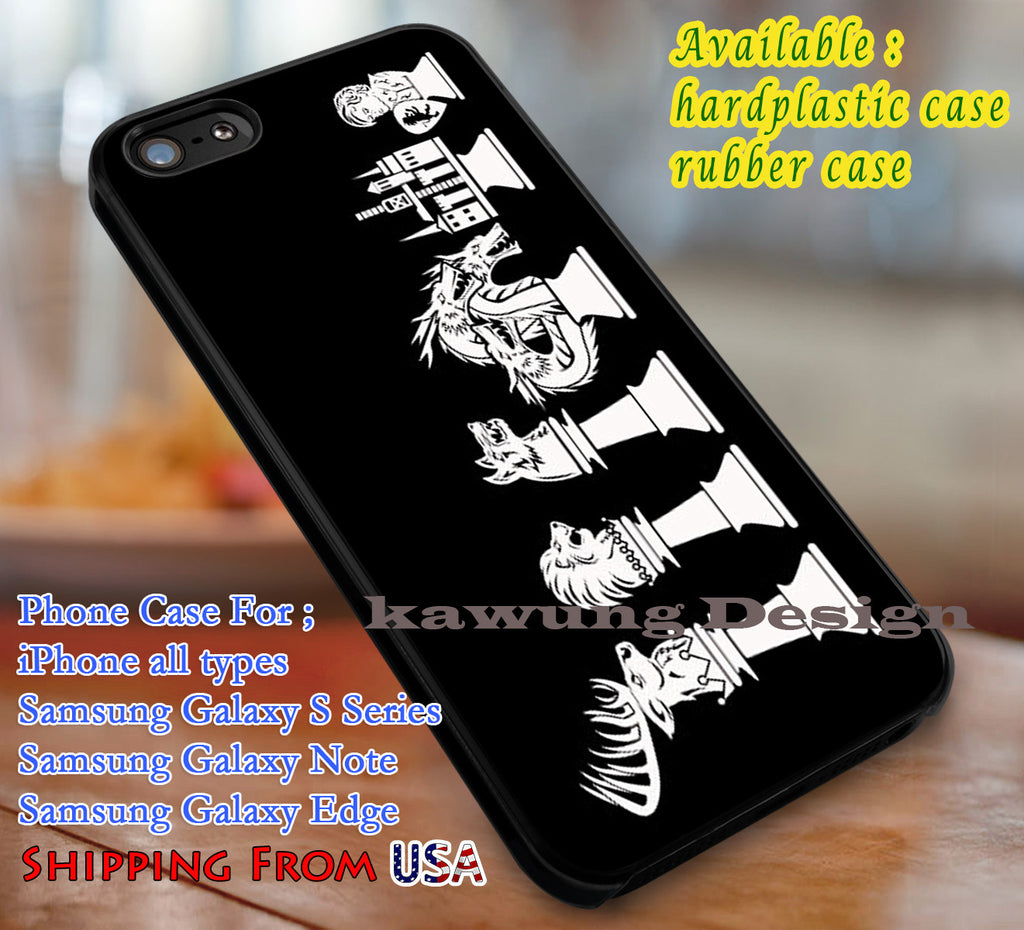 Chess of Thrones Game of Thrones iPhone X 8+ 7 6s Cases Samsung Galaxy S8 S7 edge NOTE 8 5 4