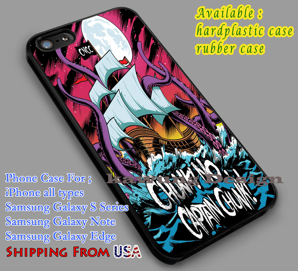 Chunk No Captain Chunk Art iPhone 8+ 7 6s Cases Samsung Galaxy S8 S7 edge NOTE 8 5 4