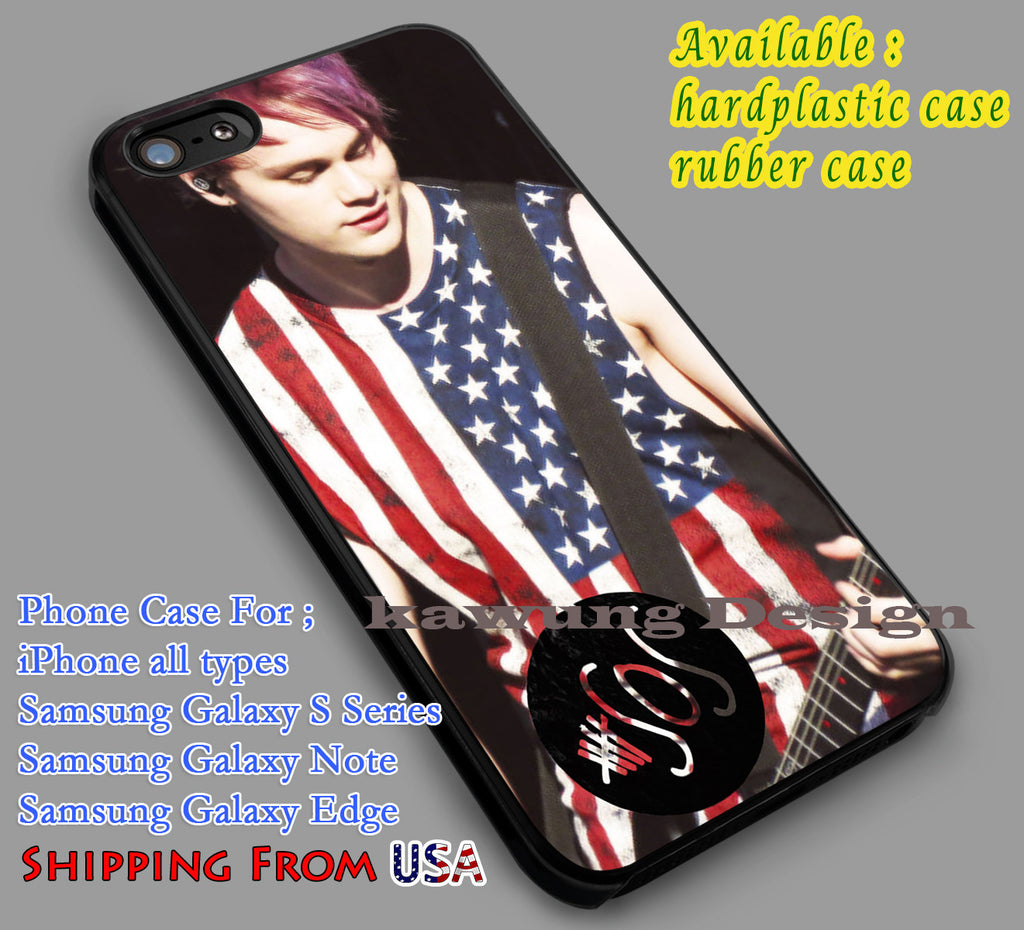 Clifford | Michael Clifford | 5SOS iPhone 6s 6 6s+ 6plus Cases Samsung Galaxy s5 s6 Edge+ NOTE 5 4 3 #music #5sos dl2 - Kawung Design  - 1