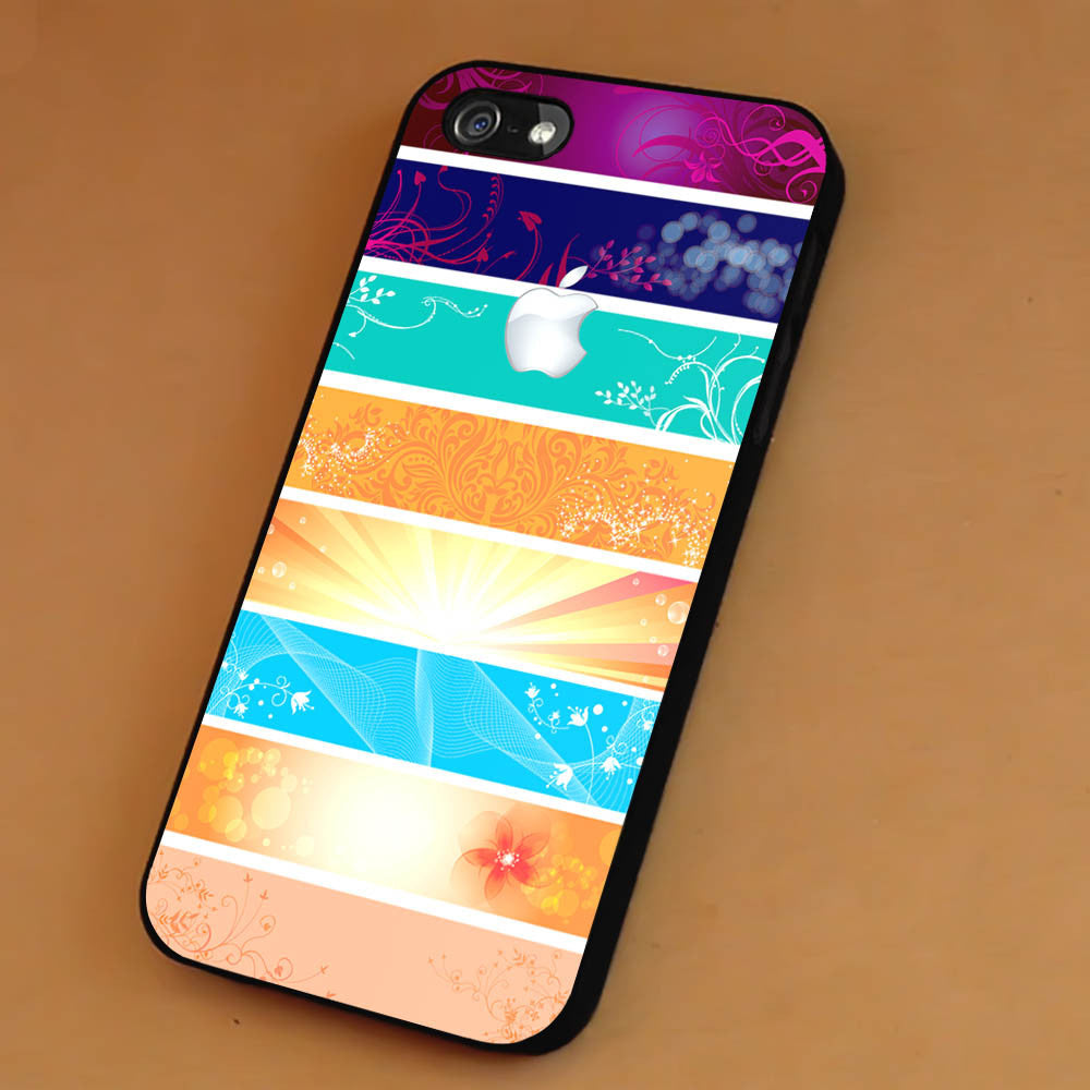 Colorful Background White Logo iPhone 6s 6 6s+ 5c 5s Cases Samsung Galaxy s5 s6 Edge+ NOTE 5 4 3 #art sp - Kawung Design  - 1