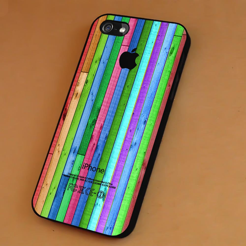 Colorful Stripe Wood Aple iPhone 6s 6 6s+ 5c 5s Cases Samsung Galaxy s5 s6 Edge+ NOTE 5 4 3 #art sp - Kawung Design  - 1