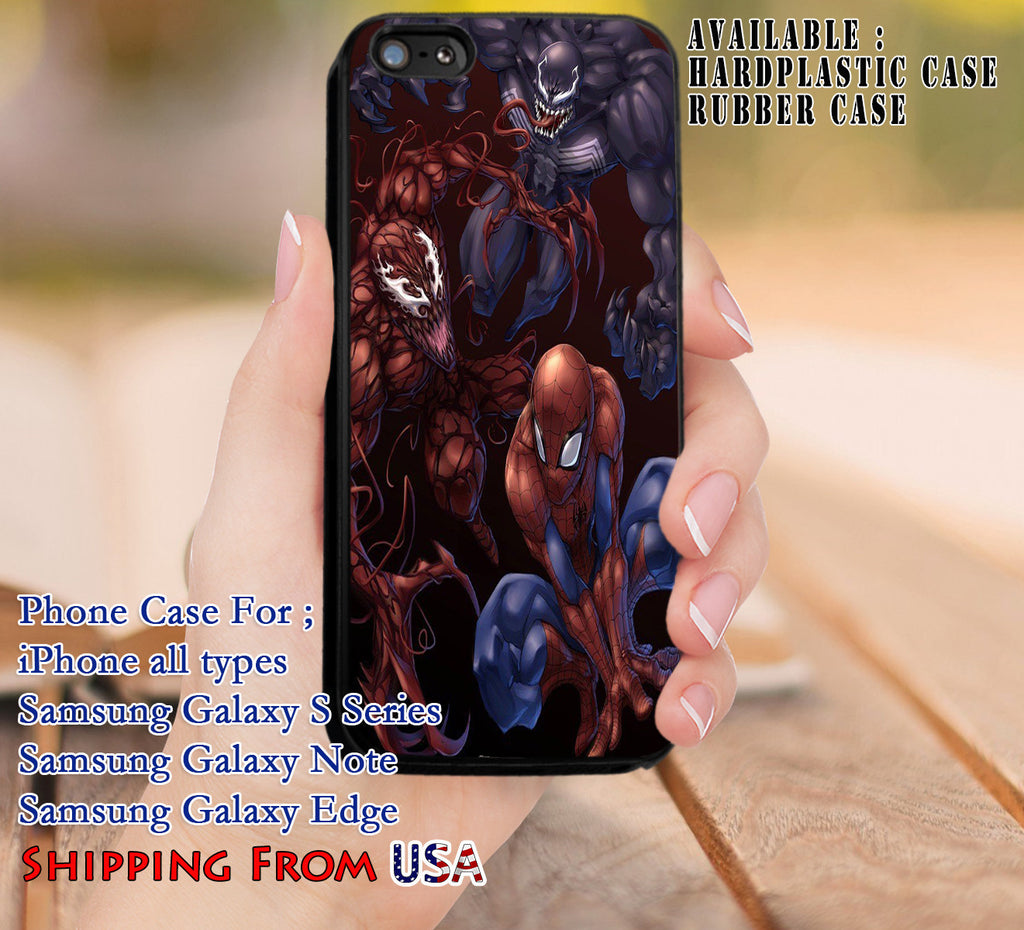 Cool Characters Spiderman iPhone 6s 6 6s+ 5c 5s Cases Samsung Galaxy s5 s6 Edge+ NOTE 5 4 3 #movie #disney #animated #marvel #comic dl8 - Kawung Design  - 1