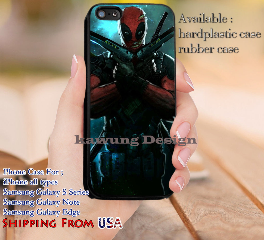 Cool Enemy Deadpool iPhone 6s 6 6s+ 5c 5s Cases Samsung Galaxy s5 s6 Edge+ NOTE 5 4 3 #movie #disney #animated #marvel #comic #deadpool dl12 - Kawung Design  - 1